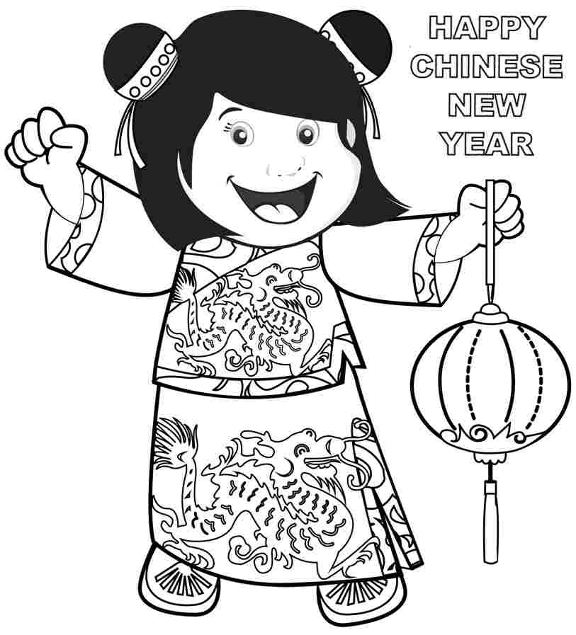 Chinese New Year Coloring Pages By Hannah Free Printables - Coloring-pages-for-chinese-new-year