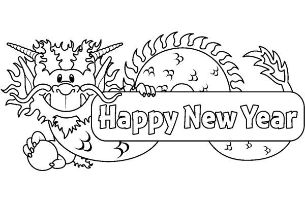 chinesenewyear coloring pages