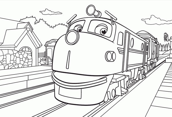 Wilson From The Chuggington