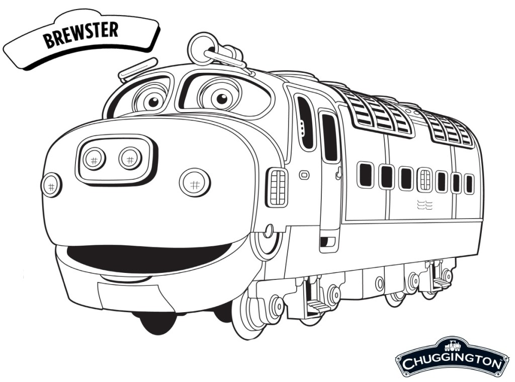 Chuggington Coloring Pages Pdf : Chuggington coloring pages olivia free printables