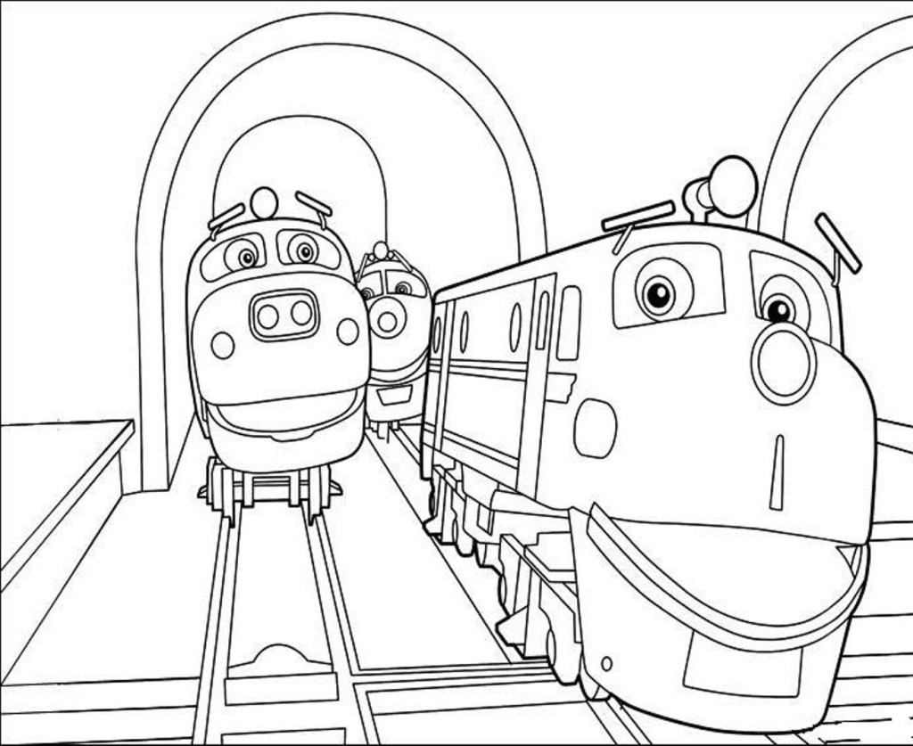 Chuggington pictures coloring sheets free printables for Chuggington coloring pages