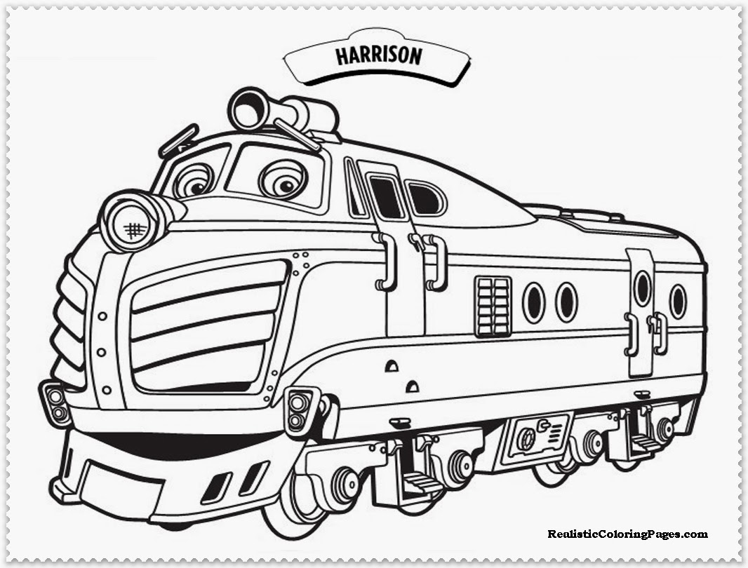 Coloring: Adventures Of A Group Of Trainees Chuggington 17