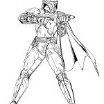 Action adventures of fictional soldiers Clone Troopers 18 Clone Troopers coloring pages