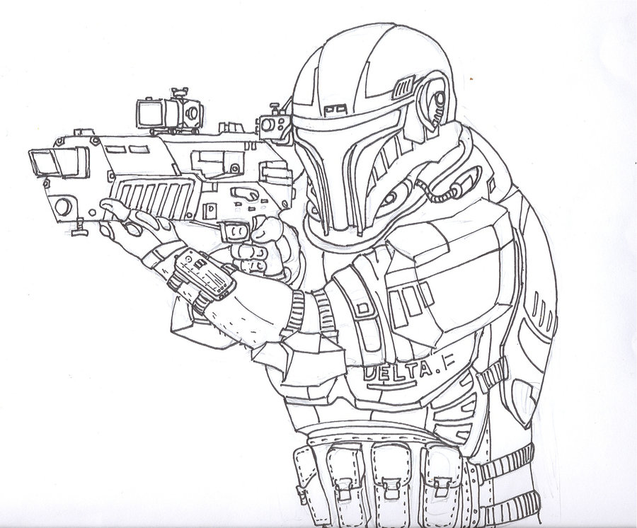 Cpt Jink coloring page