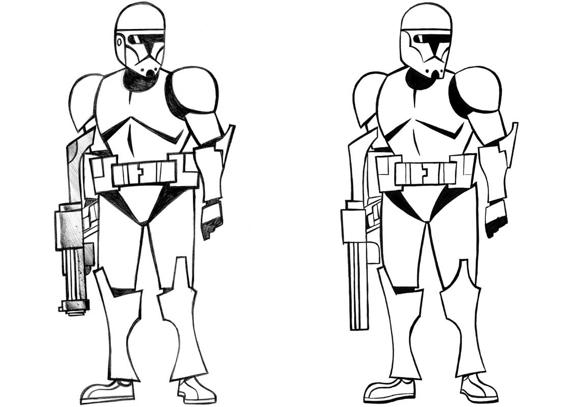 Clone Troopers soldiers from Star War
