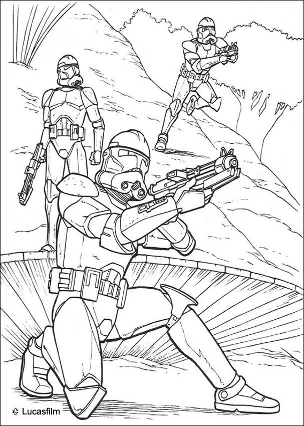 Clone Troopers soldiers