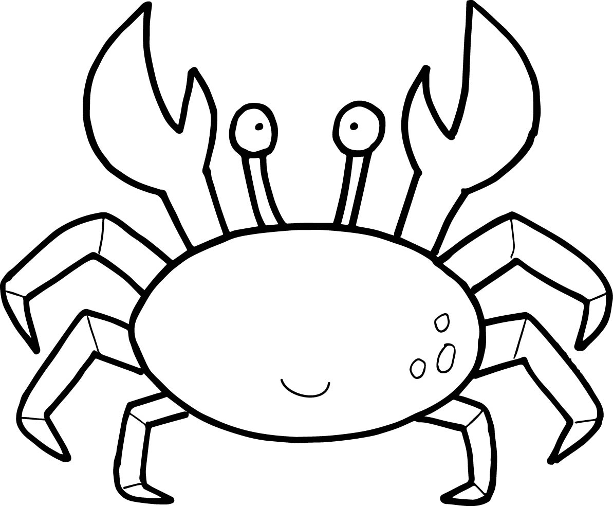 Crabs - Free Coloring Pages