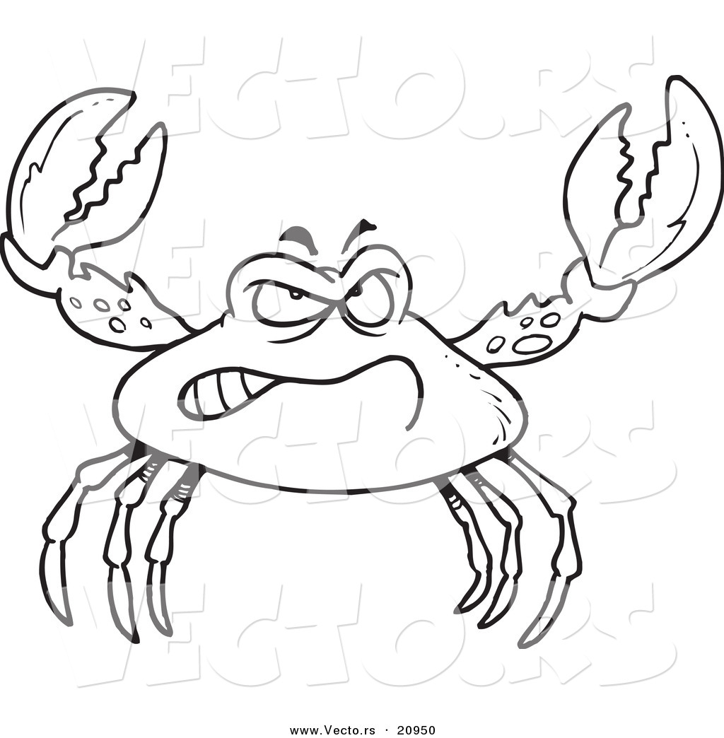 Delicious crustacean creature Crab