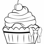 Yummy Cupcake 20 Cupcake coloring pages