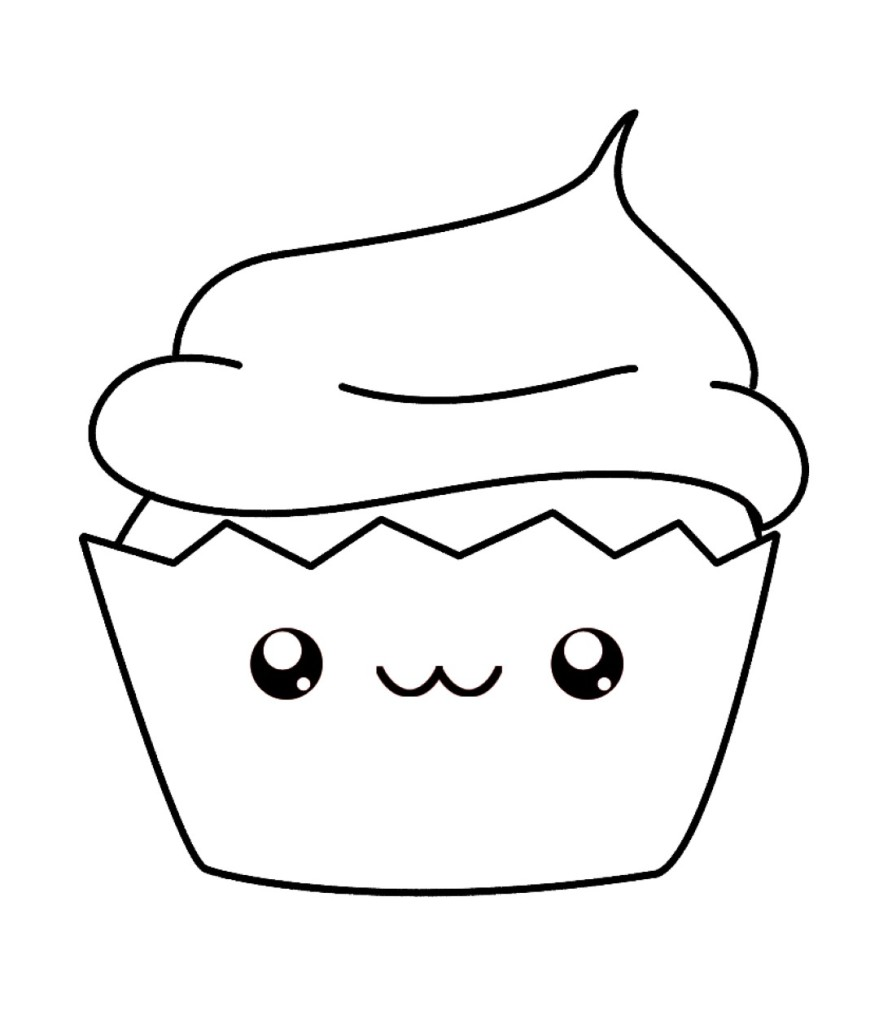 cute Cupcake cartoon