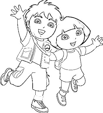 Diego Coloring Pages Copy Mason Free Printables