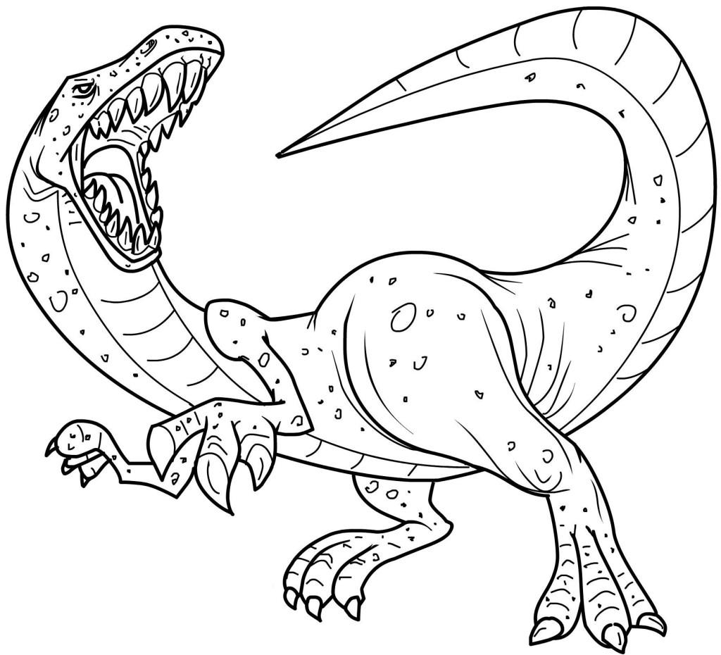 dinosaur coloring pics – Free Printables