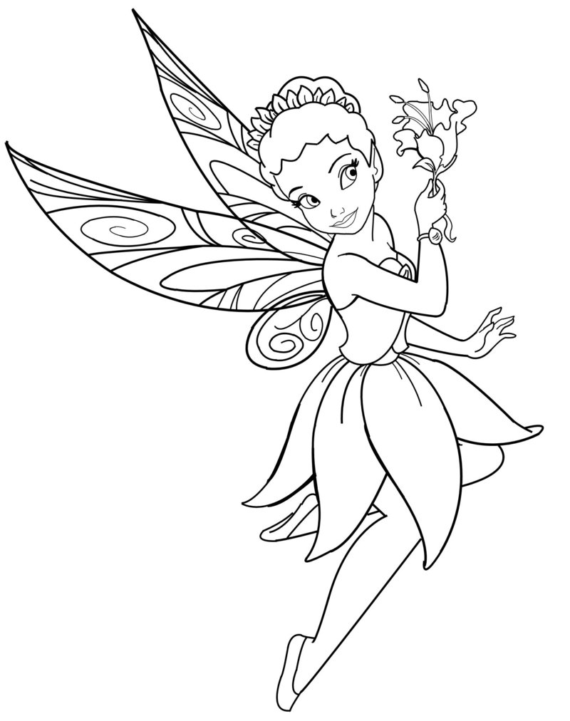 disney fairies coloring page - Fairies Coloring Pages