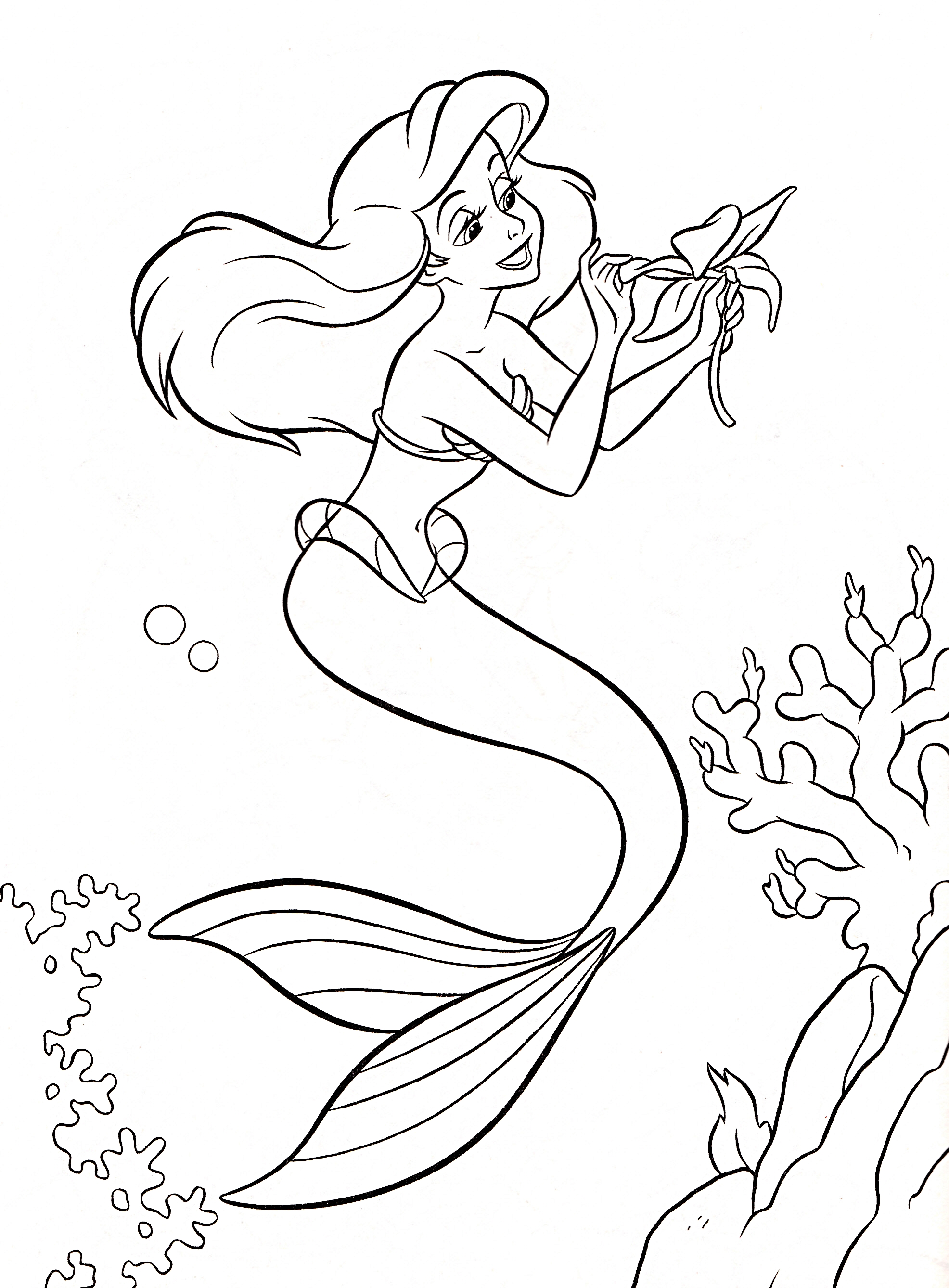 little mermaid Disney Princess