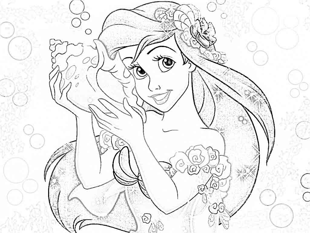 Coloring Pages Princess Pdf : Mesmerizing world of disney princess