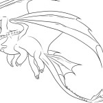 Hazardous reptilian creature Dragon 20 Dragon coloring pages