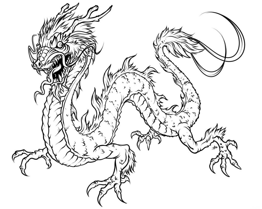 dragon coloring pages elijah – Free Printables