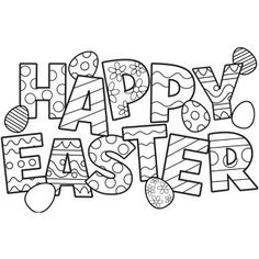 Elicit the holy festival of church in Easter 20 Easter coloring ...
