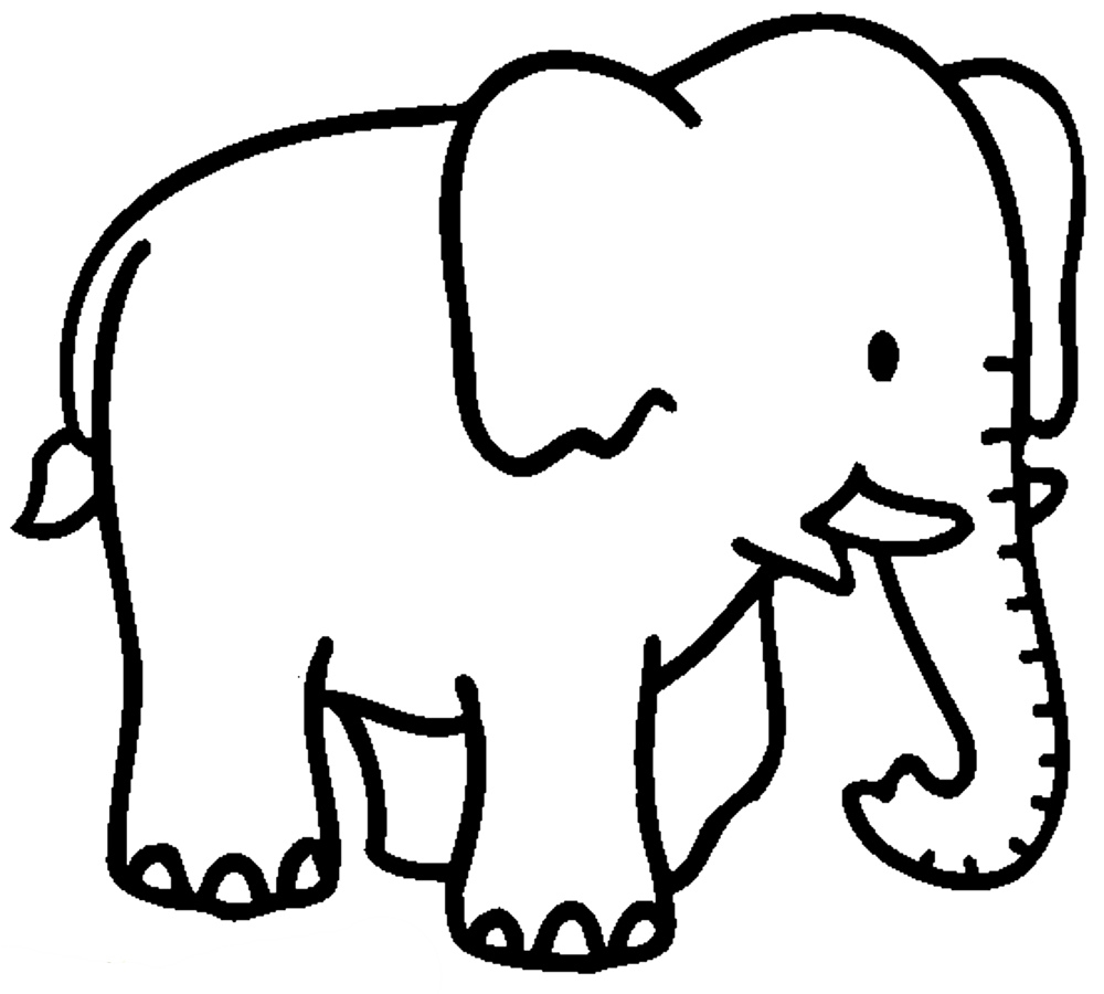 Image Gallery Elephant Coloring