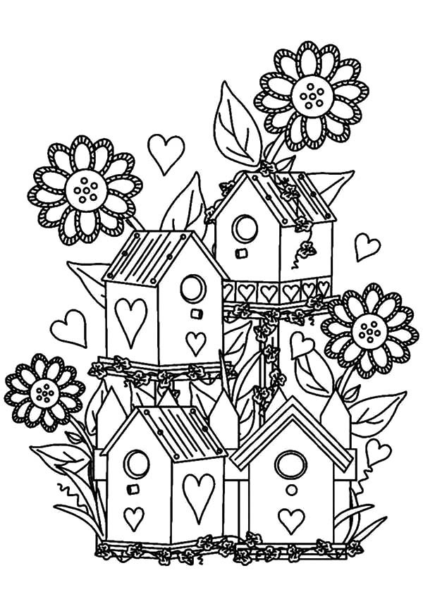 garden coloring pages games online - photo#9