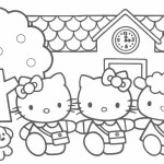 Adventure of little kitty and her friends Hello Kitty 20 Hello Kitty coloring pages