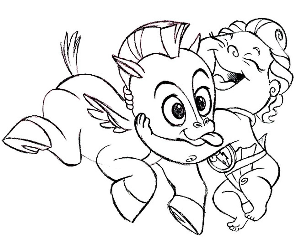 Hercules - Hercules and Hydra Coloring Page | Disney LOL | 1015x1261
