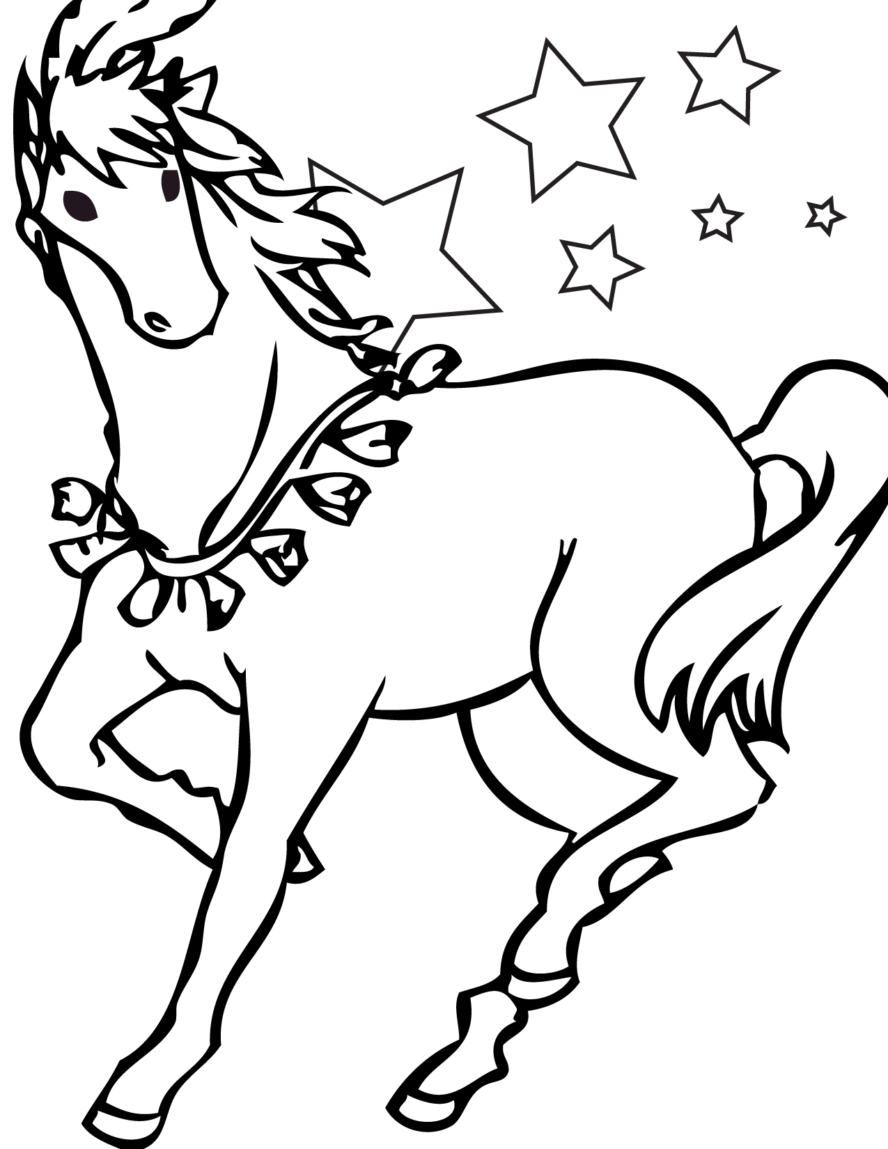 incredible domestic animal horse 20 horse coloring pages free printables. Black Bedroom Furniture Sets. Home Design Ideas