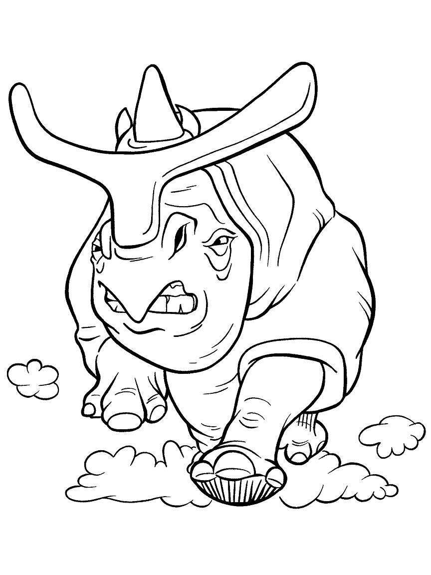 Ice Age coloring page for kids