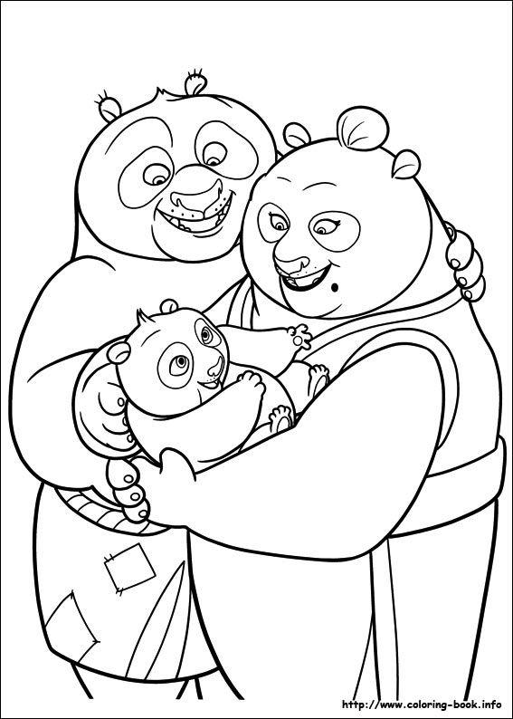 Comical adventure of Dragon Warrior Po Kung Fu Panda 20 Kung Fu ...