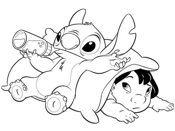 Warm story of a girl and her pet creature Lilo & Stitch 20 ...