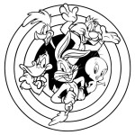 Amusing story of Disney popular characters Looney Tunes 20 Looney Tunes coloring pages
