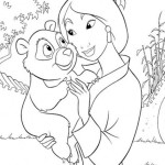 Heroic story of a brave girl Mulan 20 Mulan coloring pages