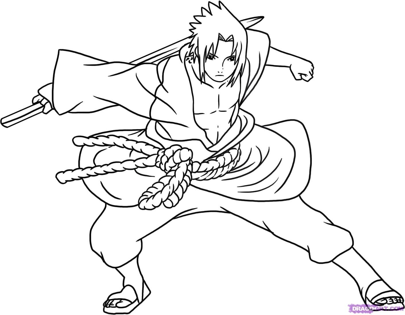 revenge story of villager naruto 20 naruto coloring pages free