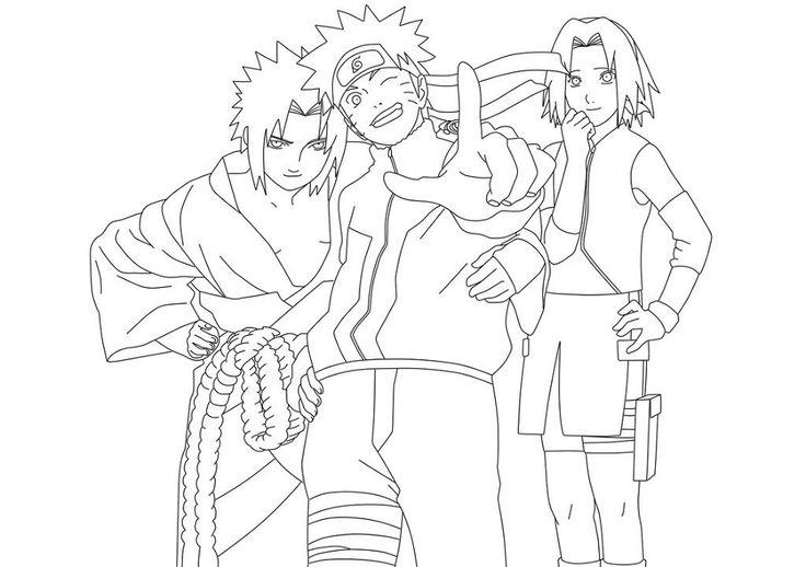 Naruto Sketch Printable