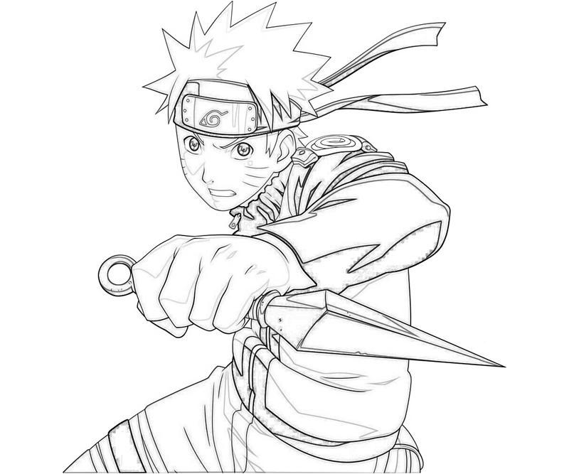 Naruto Uzumaki In Action
