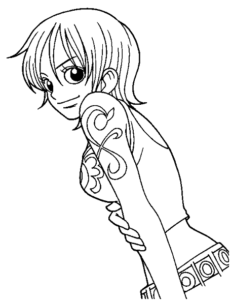 robin coloring page for kids