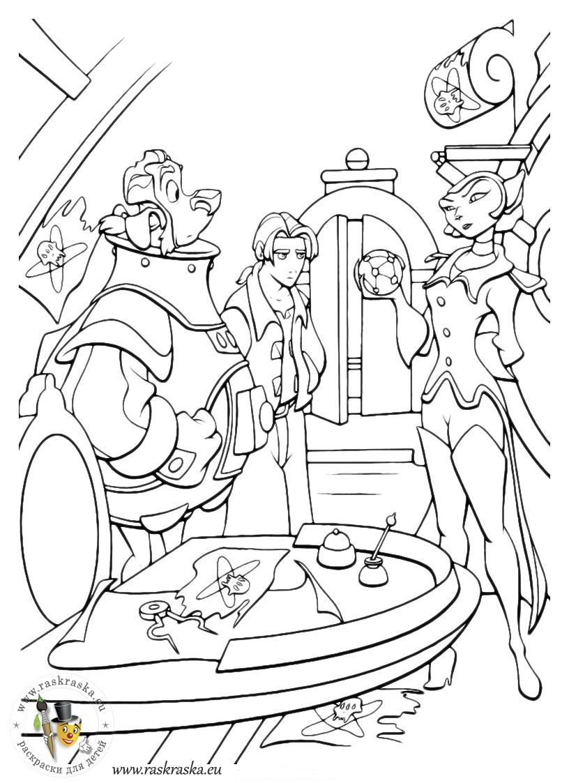 planet 51 coloring pages free - photo#13