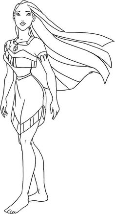 Pocahontas coloring pages | 437x236