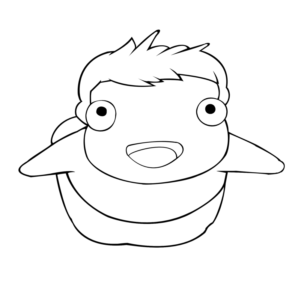 coloring pages of ponyo by oliver u2013 free printables