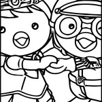 Racing adventure story of a tiny penguin Pororo 20 Pororo coloring pages