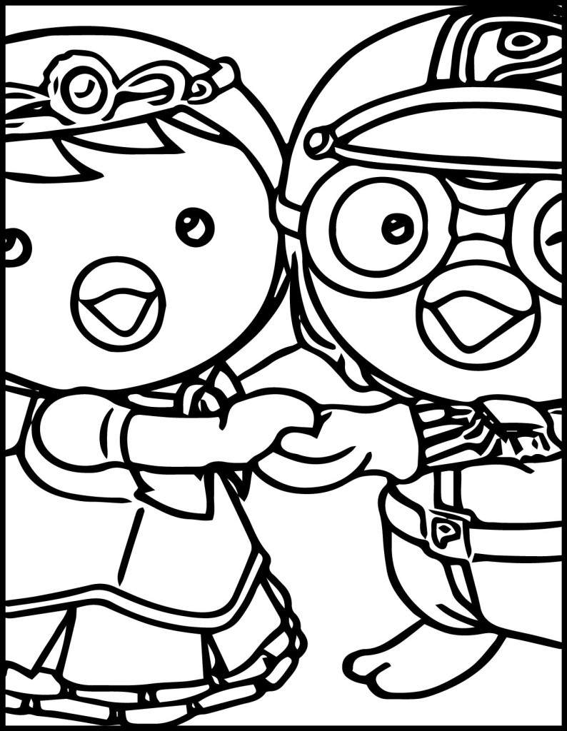 Coloring pages of pororo by mackenzie free printables for Pororo coloring pages