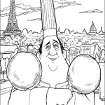 Story of a chef rat Ratatouille 24 Ratatouille coloring pages
