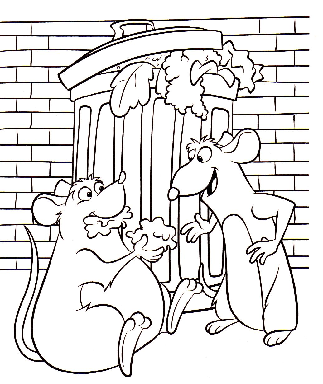 Uncategorized Ratatouille Coloring Pages story of a chef rat ratatouille 24 coloring pages smiling django page remy with his brother django