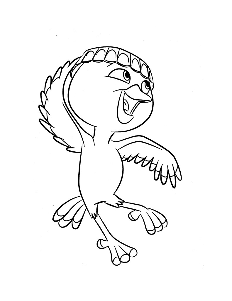 Rio 2 Coloring Pages Pdf : Rio coloring pages from grayson free printables