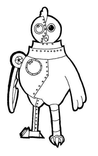 robot-chicken images to print – Free Printables