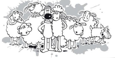 Shaun The Sheep Coloring Pages By Ethan Free Printables Shaun The Sheep Coloring Pages