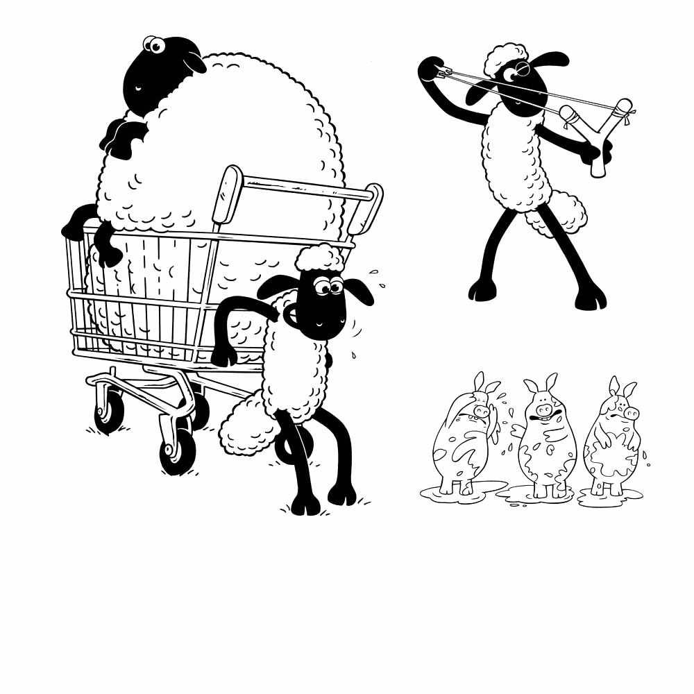Lamb colouring pages to print - How To Color Sheep Coloring Pages Preschool Page Free
