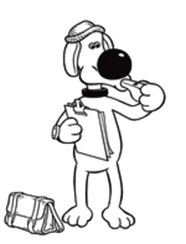 sheep and dogs coloring pages - photo#32
