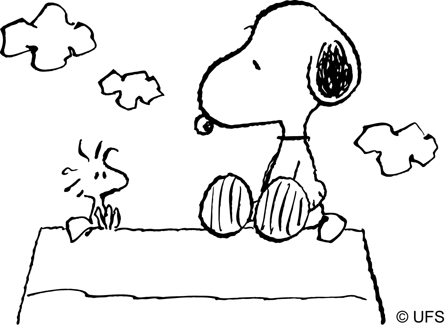 Funny adventures of a tiny dog Snoopy 20 Snoopy coloring pages ...