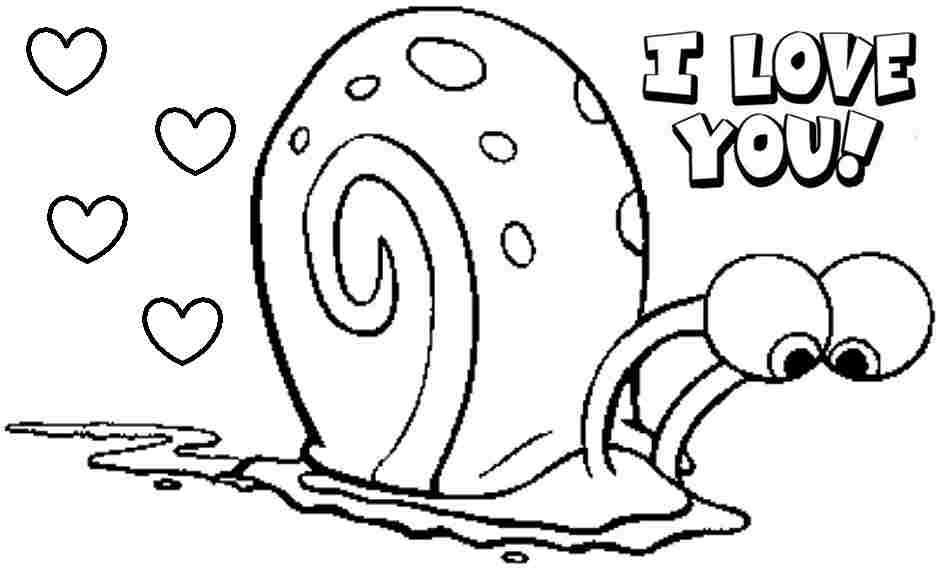 Gary The Snail From Spongebob